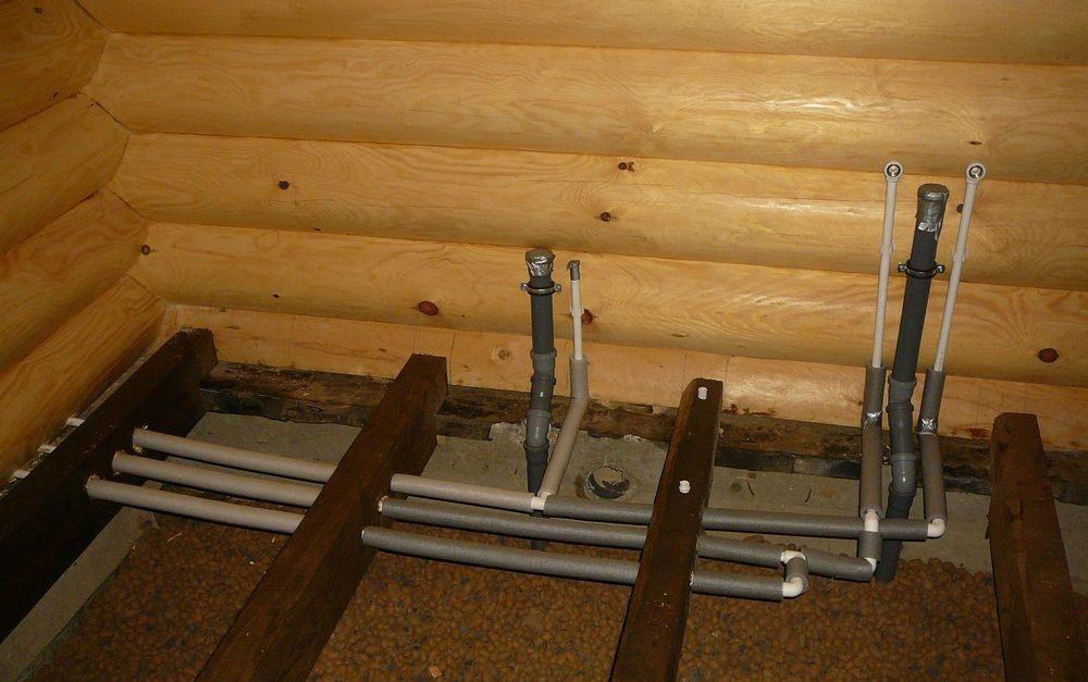 Сделать канализацию в деревянном доме своими руками