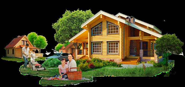 Строительство деревянных домов под ключ!